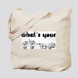 What's Your Sign Tote Bag