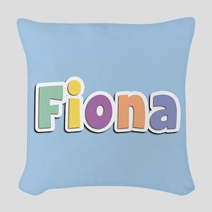 Fiona Spring14 Woven Throw Pillow