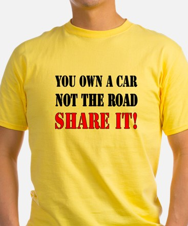 Funny Motorcycle safety T