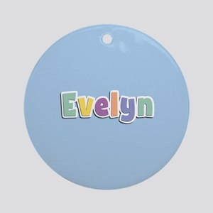 Evelyn Spring14 Ornament (Round)