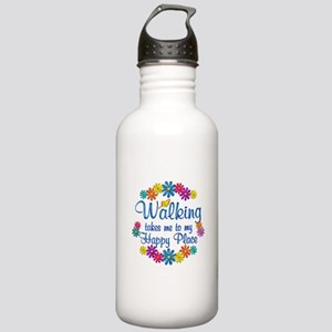 Walking Happy Place Stainless Water Bottle 1.0L