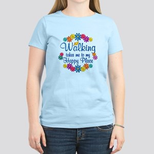 Walking Happy Place Women's Light T-Shirt