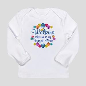 Walking Happy Place Long Sleeve Infant T-Shirt