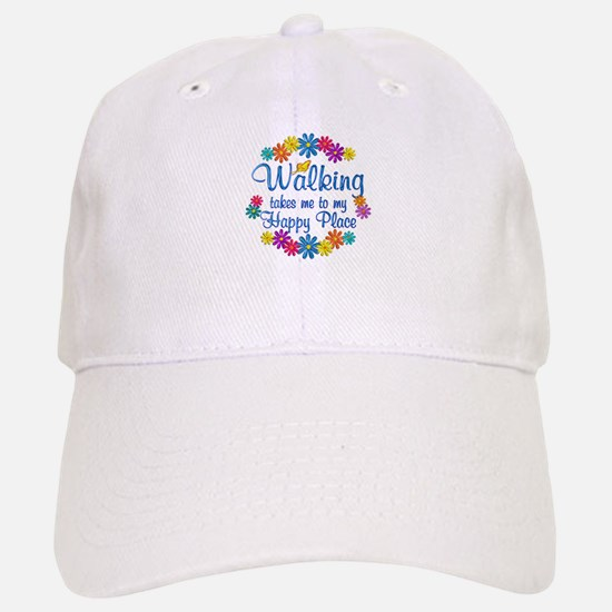 Walking Happy Place Baseball Baseball Cap