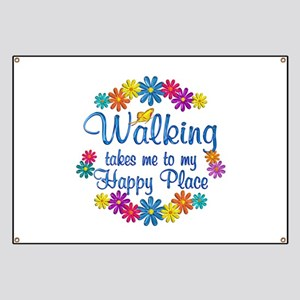 Walking Happy Place Banner