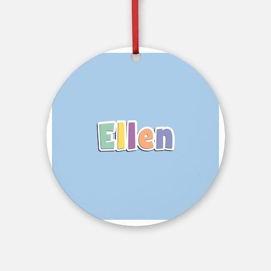 Ellen Spring14 Ornament (Round)