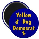 Yellow Dog Democrat Magnets (10 pk)