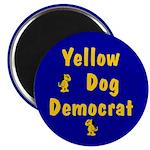 Yellow Dog Democrat Magnets (100 pk)