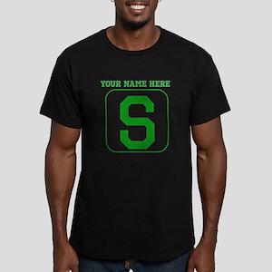 Custom Green Block Letter S T-Shirt