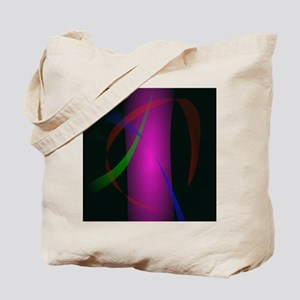 Abstract Pink Waterfall in the Dark Tote Bag