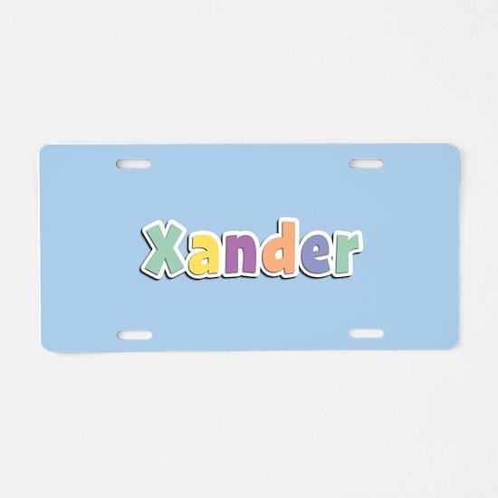 Xander Spring14 Aluminum License Plate