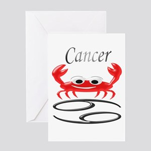 Star Sign Cancer Greeting Cards