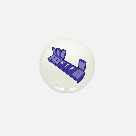 Wed, Thur, Fri Pill Box Mini Button