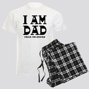 I am Dad Hear Me Snore Men's Light Pajamas