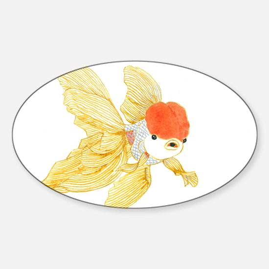 Daily Doodle 15 Goldfish Tail Decal