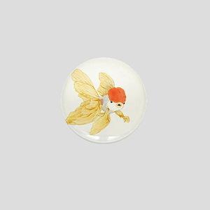 Daily Doodle 15 Goldfish Tail Mini Button