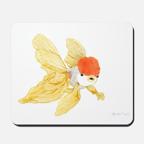 Daily Doodle 15 Goldfish Tail Mousepad