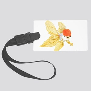 Daily Doodle 15 Goldfish Tail Luggage Tag