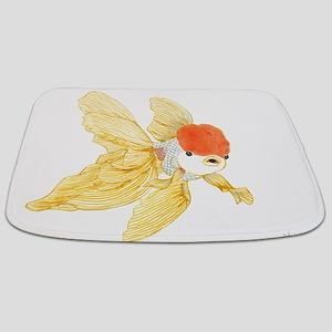 Daily Doodle 15 Goldfish Tail Bathmat
