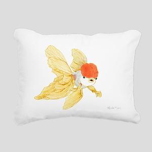 Daily Doodle 15 Goldfish Tail Rectangular Canvas P