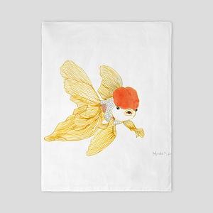 Daily Doodle 15 Goldfish Tail Twin Duvet