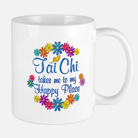 Tai Chi Happy Place Mug