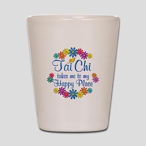 Tai Chi Happy Place Shot Glass
