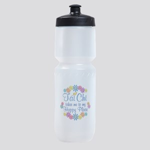 Tai Chi Happy Place Sports Bottle