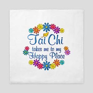 Tai Chi Happy Place Queen Duvet
