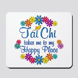 Tai Chi Happy Place Mousepad