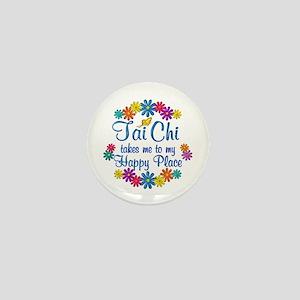 Tai Chi Happy Place Mini Button