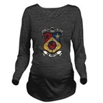USS FRANK E. EVANS Long Sleeve Maternity T-Shirt