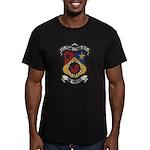 USS FRANK E. EVANS Men's Fitted T-Shirt (dark)