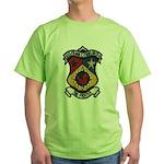 USS FRANK E. EVANS Green T-Shirt