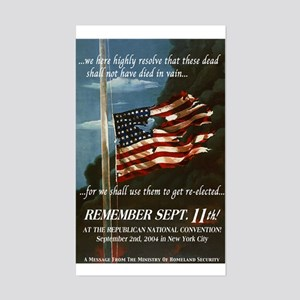 Remember Sept. 11th Sticker