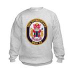 USS FITZGERALD Kids Sweatshirt