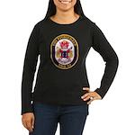 USS FITZGERALD Women's Long Sleeve Dark T-Shirt