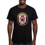 USS FITZGERALD Men's Fitted T-Shirt (dark)