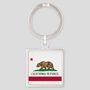 STATE FLAG : california Keychains