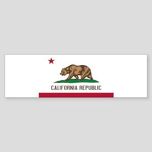 STATE FLAG : california Bumper Sticker