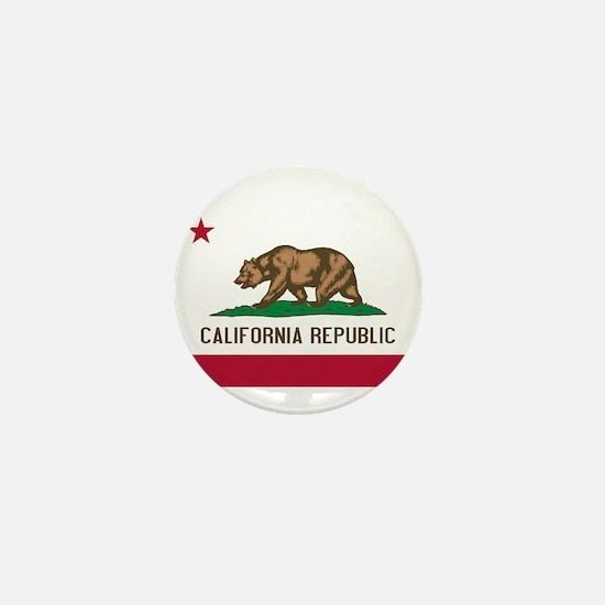 STATE FLAG : california Mini Button
