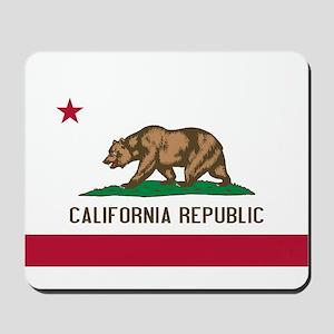 STATE FLAG : california Mousepad