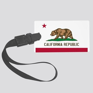 STATE FLAG : california Luggage Tag