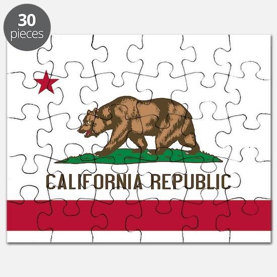 STATE FLAG : california Puzzle