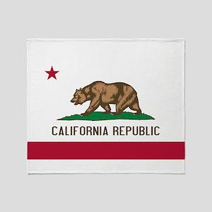 STATE FLAG : california Throw Blanket