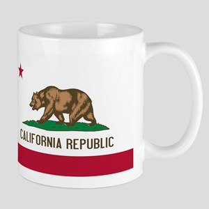 STATE FLAG : california Mugs