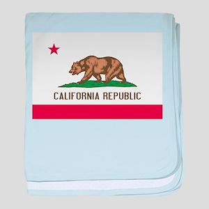 STATE FLAG : california baby blanket