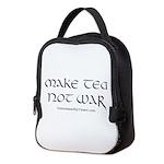 Make Tea Not War Neoprene Lunch Bag