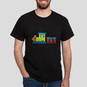 Monkey Driving a Train T-Shirt