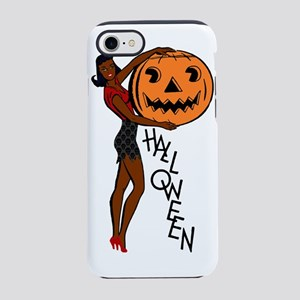 black pin up halloween iPhone 7 Tough Case